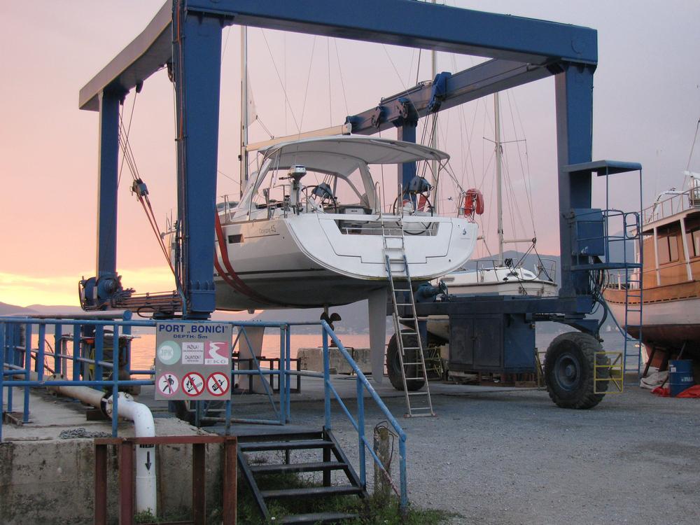 S.Y. BENETEAU OCEANIS 45 – 2014. 09. 17.